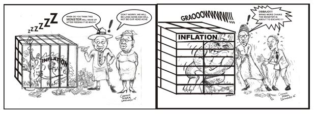 Nigeria, Buhari, the war on caging the Monster called Inflation…….and the Economics behind the President's Continued Actions!