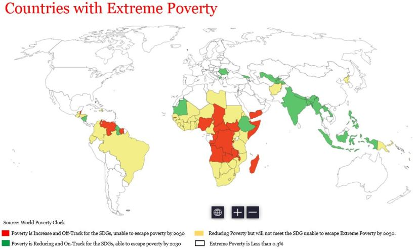 Countries With Extreme Poverty